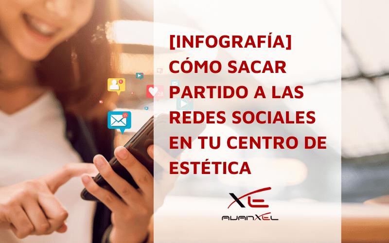 Redes sociales centros estética