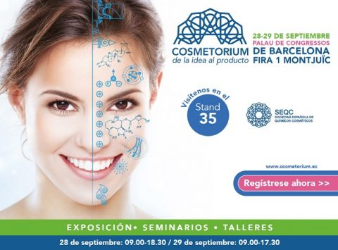 Cosmetorium certamen dedicado al sector de los cosméticos abre sus puertas en Barcelona