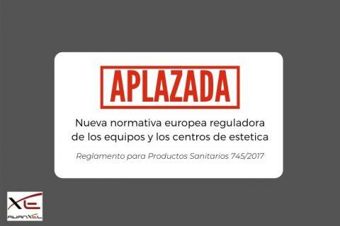 Aplazada Nueva Normativa reguladora Equipos Estética